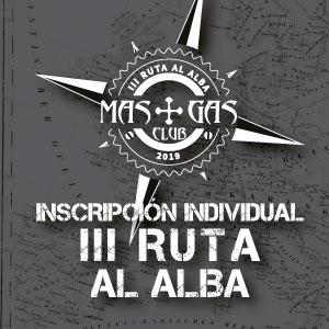 Inscripción Individual A Ruta Al Alba